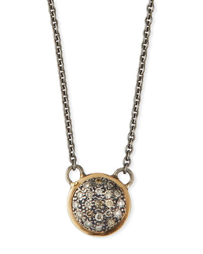 Cuento Diamond Pave Pendant Necklace
