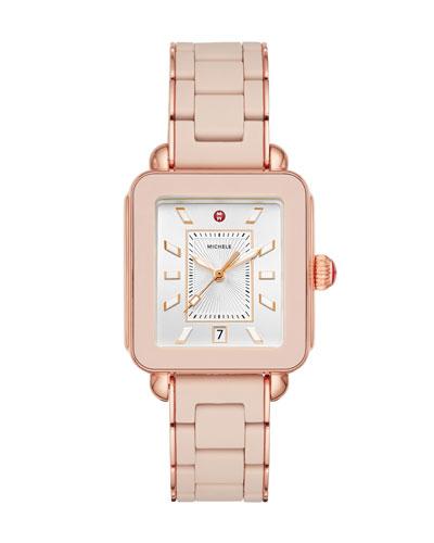 Deco Sport Bracelet Watch in Desert Rose