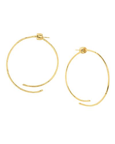 Taner Coil Hoop Earrings