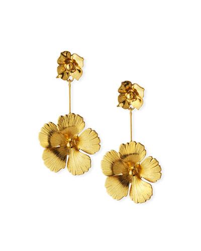 Kalina Flower Drop Earrings