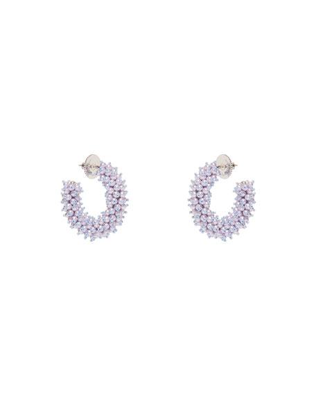 Mignonne Gavigan Taylor Mini Hoop Earrings, Pearly