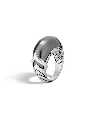 Legends Naga Hematite Ring