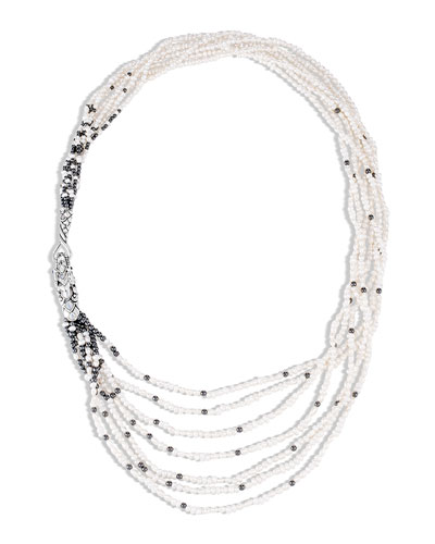 Legends Naga Layered 7-Row Pearl Necklace