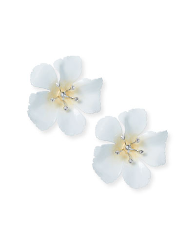 Malia Flower Stud Earrings