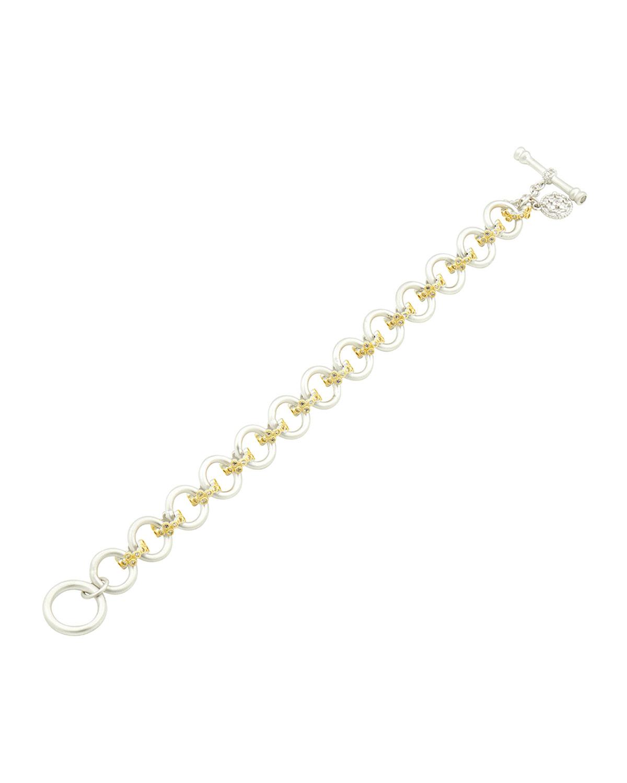 Fleur Bloom Chunky-Link Soft Bracelet