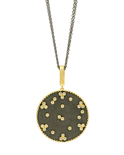 Signature Double-Sided Pendant Necklace