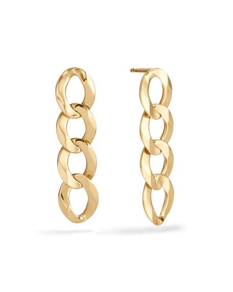 Lana 14k Casino Chain Drop Earrings