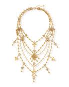 Jose & Maria Barrera Large Filigree Layered Necklace