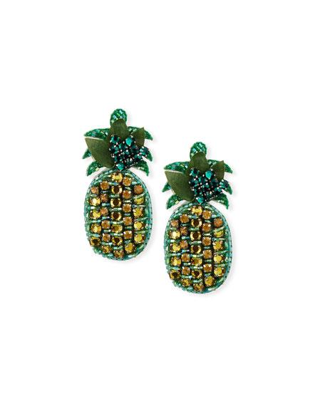 Ranjana Khan Lananas Pineapple Earrings
