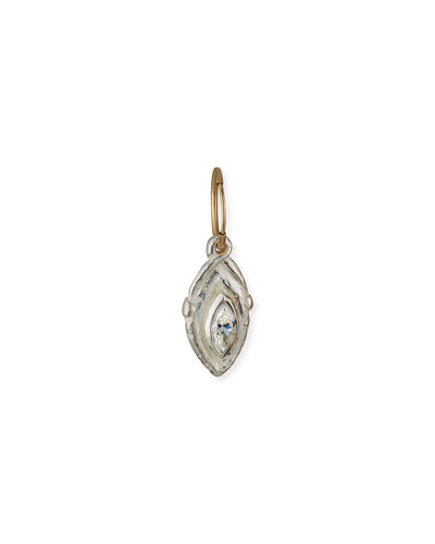 Tillandsia Cubic Zirconia Drop Earring, Single
