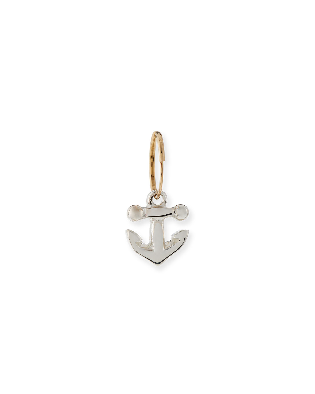 Anchor Single Earring