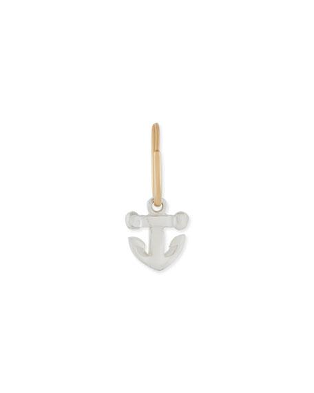 Lee Brevard Tiny Anchor Single Earring