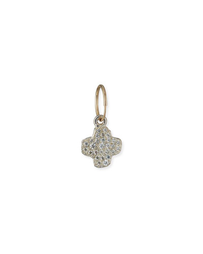 Cubic Zirconia Old Money Cruz Earring, Single
