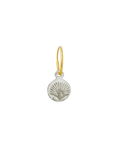 Tiny Marina Shell Earring, Single