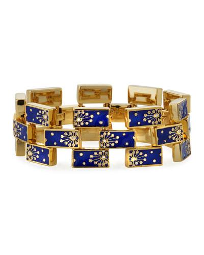 Lunette Enamel-Link Bracelet