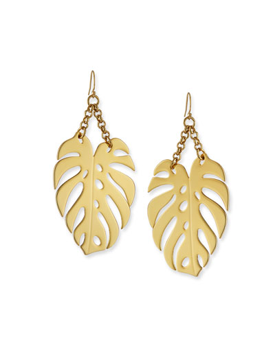 Botanica Leaf Drop Earrings