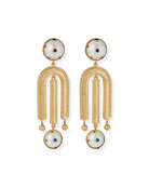Lulu Frost Boboli Clip-On Drop Earrings