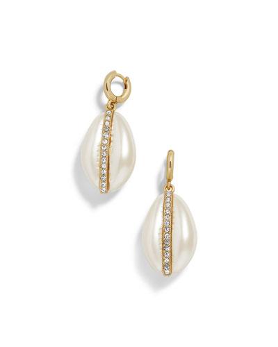 Fiji Resin & Glass Drop Earrings