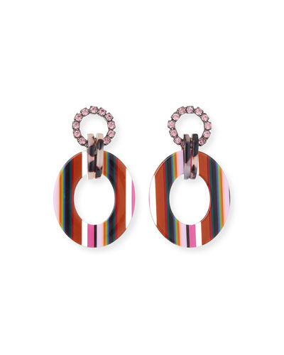 Erin Hoop-Drop Earrings