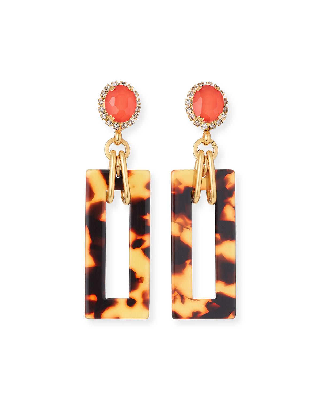 Effie Link-Drop Earrings