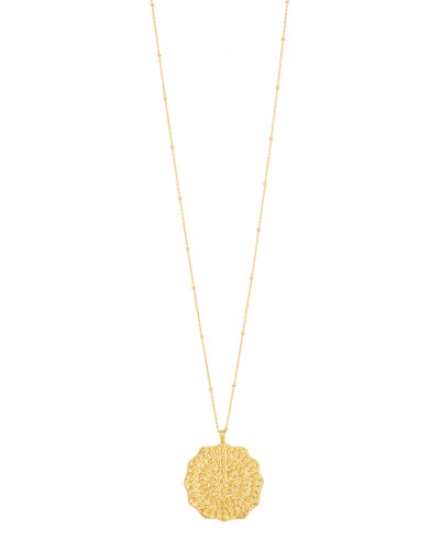 398a4a67c Quick Look. gorjana · Mosaic Coin Pendant Necklace. Available in Gold