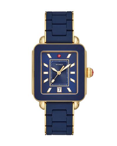 Deco Sport Bracelet Watch in Navy