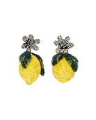Mignonne Gavigan Lemon Lux Earrings