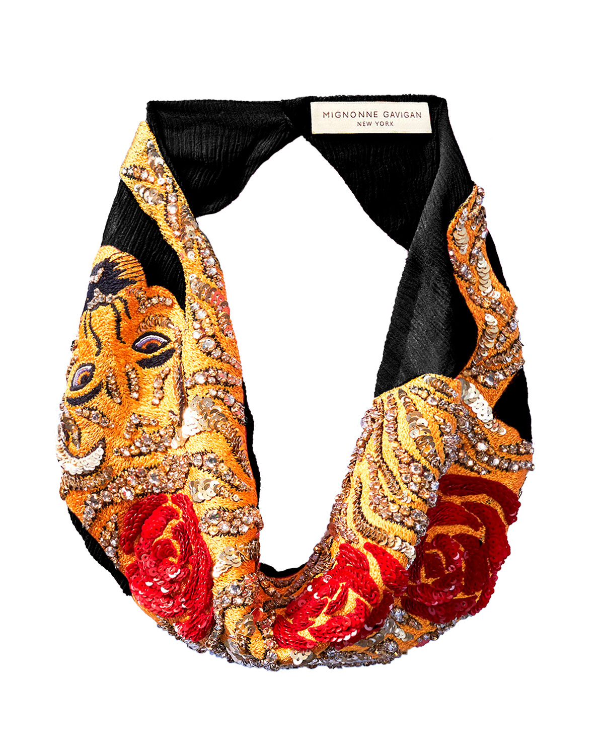 Mignonne Gavigan Accessories MUMBAI SCARF NECKLACE