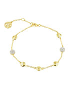 Freida Rothman Radiance Single Chain Soft Bracelet