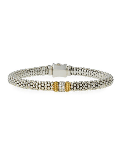 Diamond Lux Small Station Bracelet