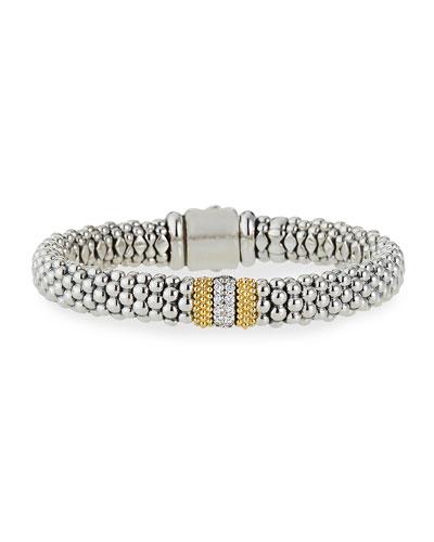 Diamond Lux 9mm Single Station Bracelet with Diamonds