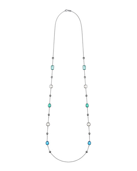 """Ippolita 925 Rock Candy® Mixed-Station Necklace in Flirt, 42""""L"""