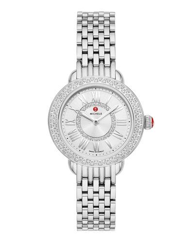 Serein Petite Diamond Watch w/ 12mm Bracelet
