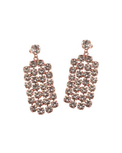 Harper Crystal Drop Earrings