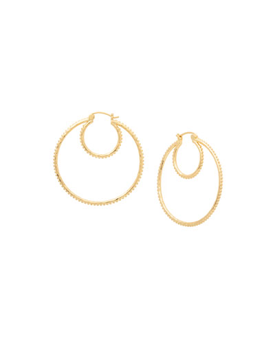 Bali Double-Hoop Earrings