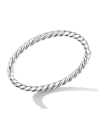 Stax 5mm Diamond Cable Bracelet, Size S-L