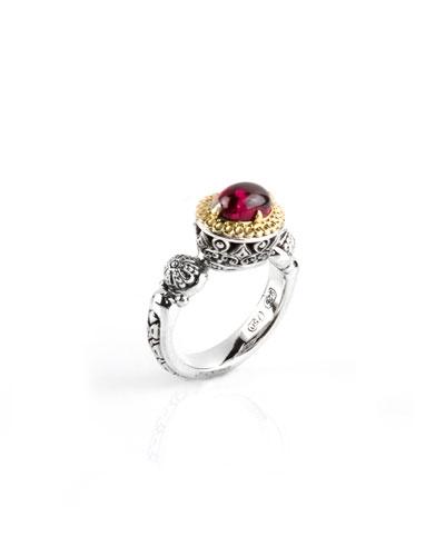 Rhodolite Ring, Size 7 & 8