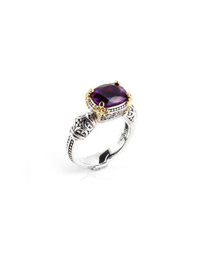Amethyst Ring, Size 7 & 8