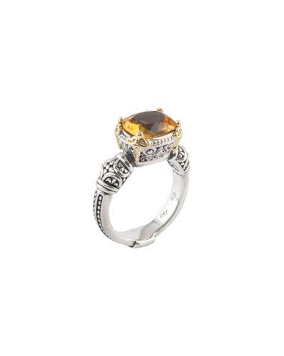 Citrine Ring, Size 7 & 8
