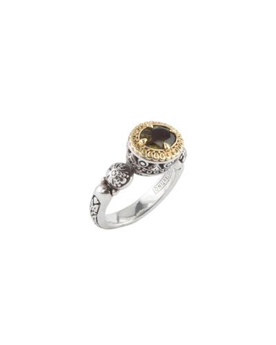 Green Tourmaline Ring, Size 7 & 8