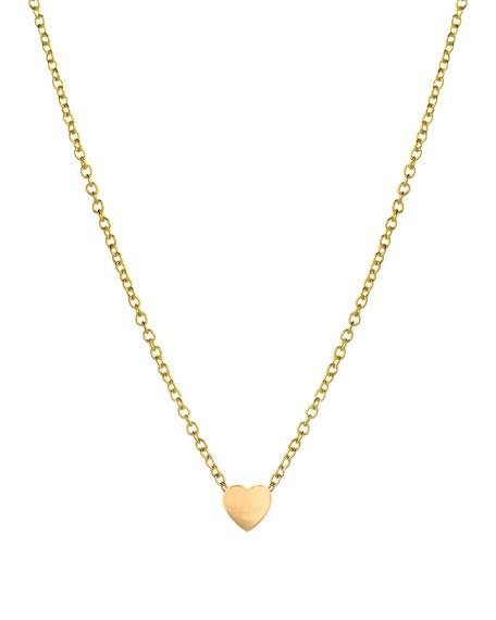 Zoe Lev Jewelry 14K Gold Heart Necklace