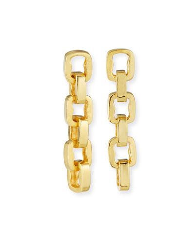 6-Link Drop Earrings