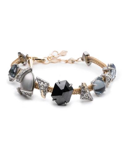 Multi-Crystal Soft Bracelet