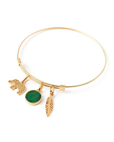 Luck Charm Bracelet, Gold