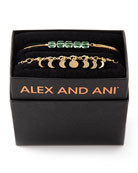 Alex and Ani Lunar Phase Bracelet Gift Set,