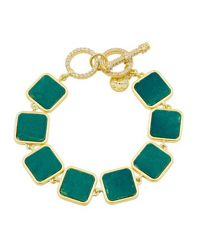 Harmony Stone Line Bracelet