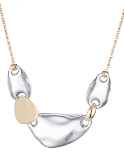 Small Liquid Lucite Link Necklace