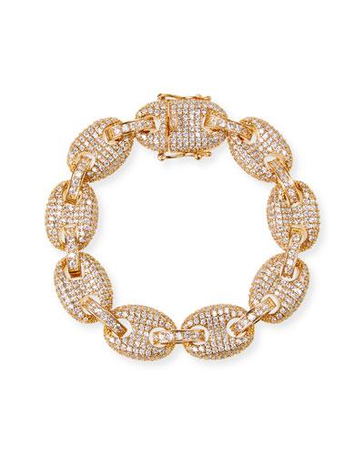 Toscano Pave-Link Bracelet