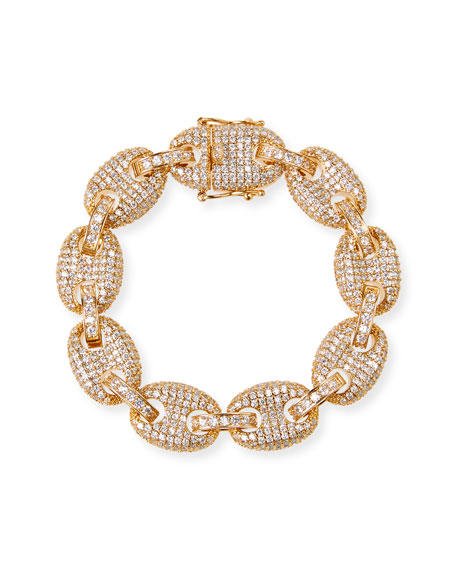 Fallon Toscano Pave-Link Bracelet