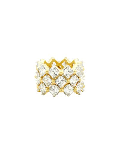 Harmony Triple-Stack Statement Rings, Set of 3, Size 6-8